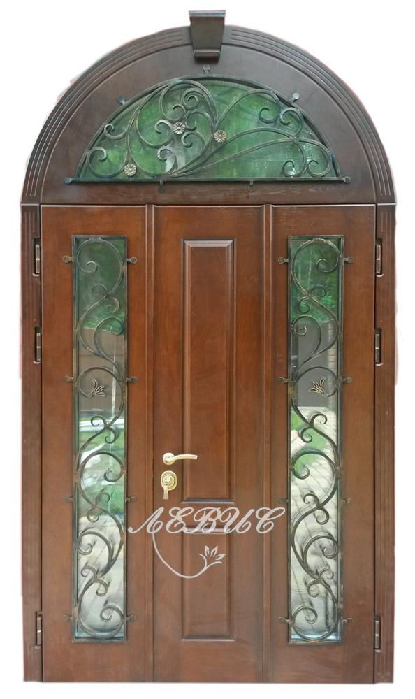 двери на заказ входные с ковкой
