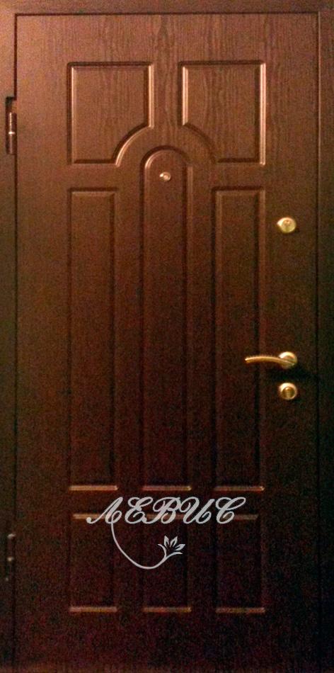 дверь металлическая с пленкой пвх