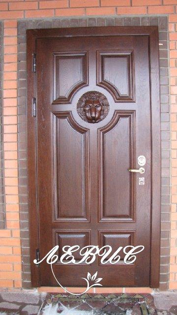 металлические двери массив на заказ
