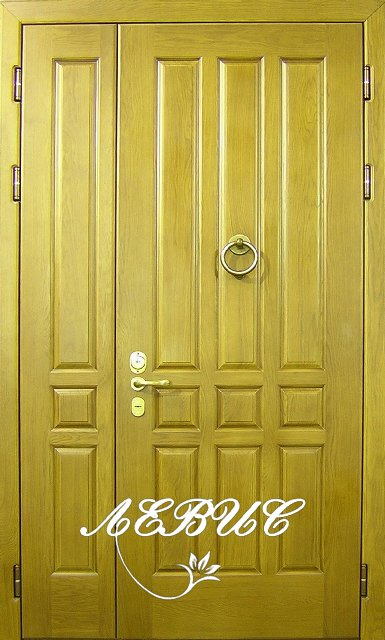 дверь двухстворчатая металлическая на заказ