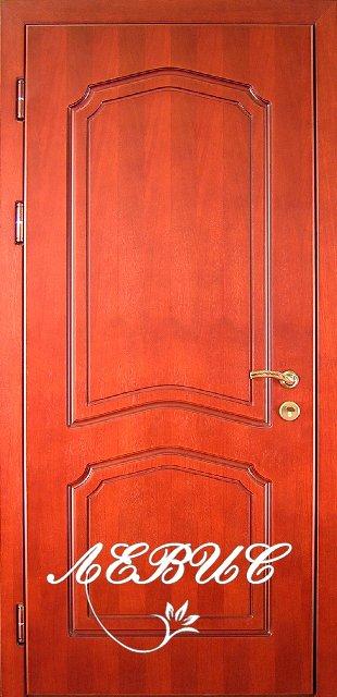 заказ входной шпонированной двери