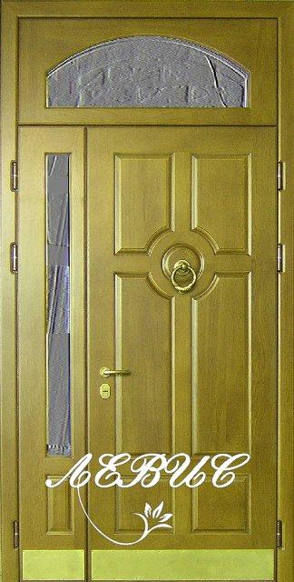 входные двери со стеклом на заказ